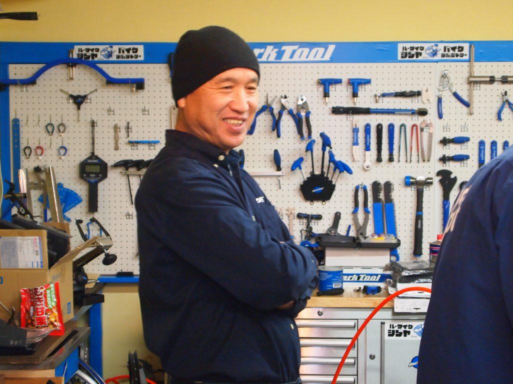 サイクルスポット技術顧問 荒井正氏