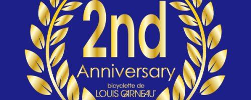LOUIS GARNEAU KAMIUMA 2ND ANNIVERSARY!!
