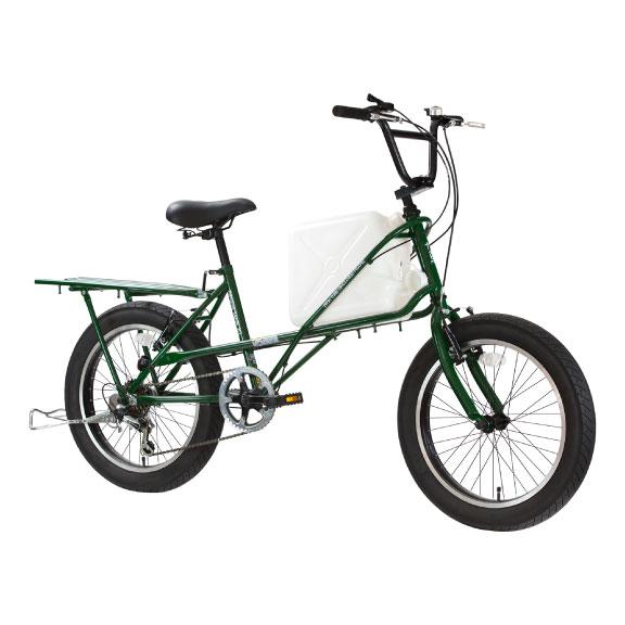 リキシャタンク災害用自転車グリーン