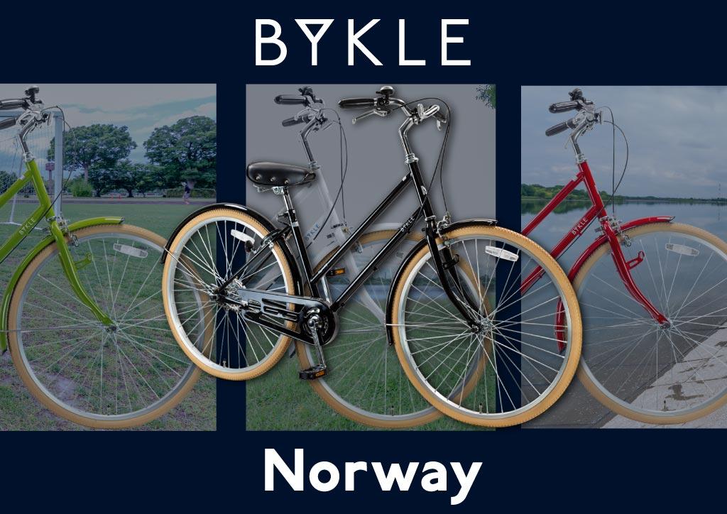 ママチャリ 26インチ 変速なし Norway BYKLE(ビュクレ) シティサイクル