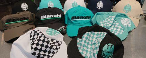 Bianchi CAP&BAG 入荷しました