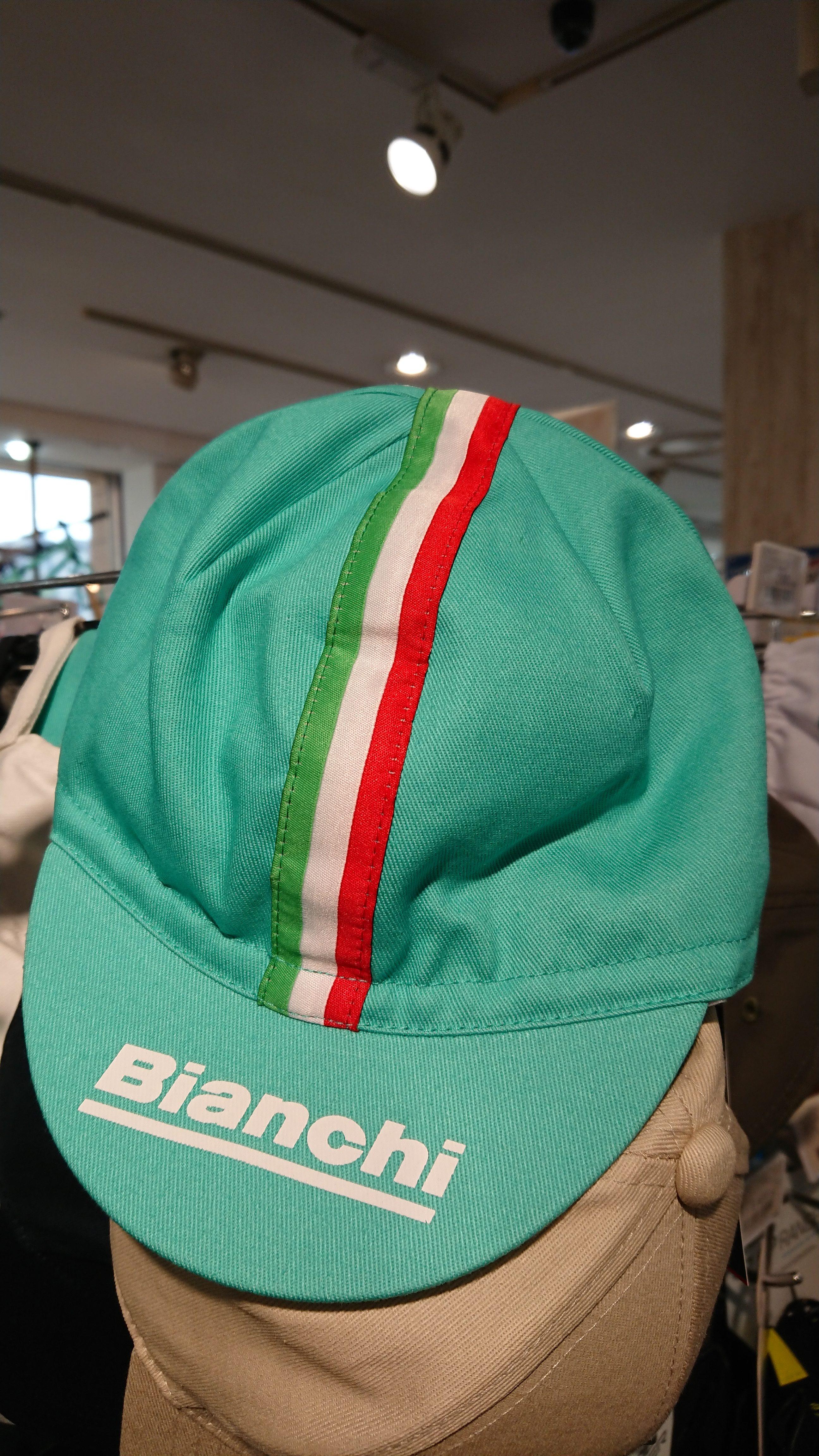 Bianchi サイクルキャップ 入荷しました